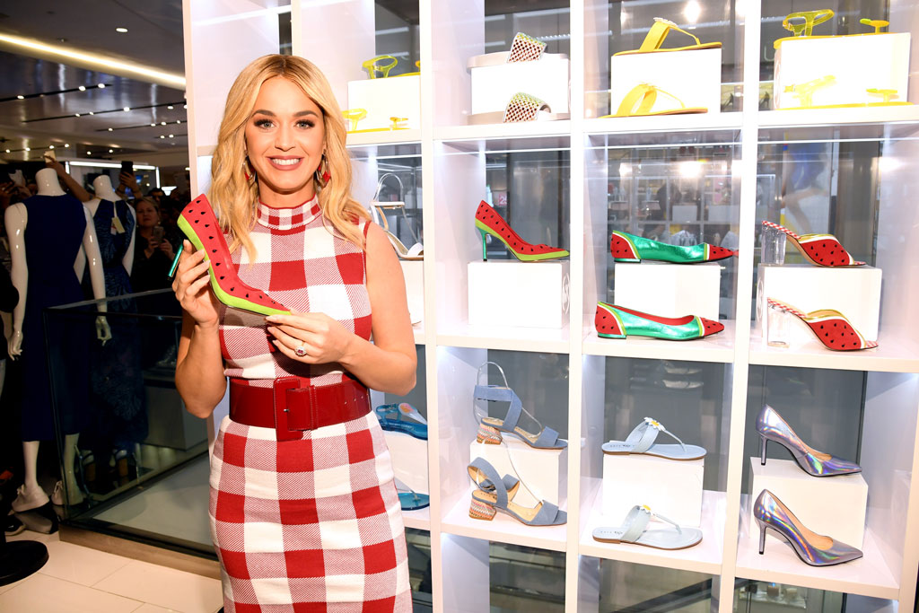 katy perry, erinn watermelon heel, kp collections, macy's herald square