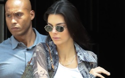 kendall jenner, celebrity style, crop top,