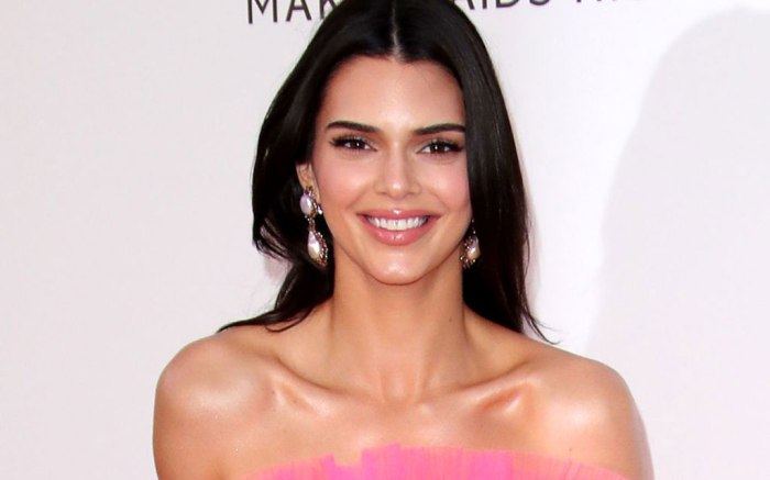 Kendall Jenner, amfar gala, giambattista valli x h&m, celebrity style, red carpet, cannes, france