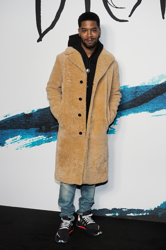 kid cudi, celebrity style, adidas nite jogger sneakers, teddy coat,Celebrities attend the Dior Homme Menswear Fall/Winter 2019-2020 show as part of Paris Fashion Week on January 18, 2019 in Paris, France.Pictured: Kid CudiRef: SPL5056379 180119 NON-EXCLUSIVEPicture by: SplashNews.comSplash News and PicturesLos Angeles: 310-821-2666New York: 212-619-2666London: 0207 644 7656Milan: 02 4399 8577photodesk@splashnews.comWorld Rights, No Belgium Rights, No France Rights, No Switzerland Rights