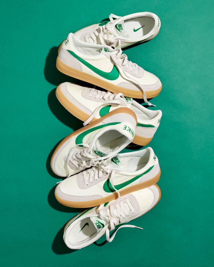Nike x J.Crew Killshot Spring Green
