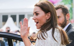 Kate Middleton attends The Chelsea Flower