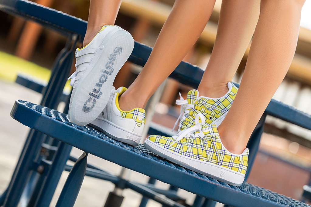 k-swiss x clueless sneakers,