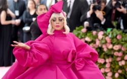 lady gaga, met gala 2019, pink