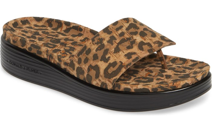 Donald Pliner Fifi Slide Sandal, leopard print sandal, summer 2019 trends, shoes to pair with leopard skirt, trendy summer sandals, leopard slide, flatform sandal