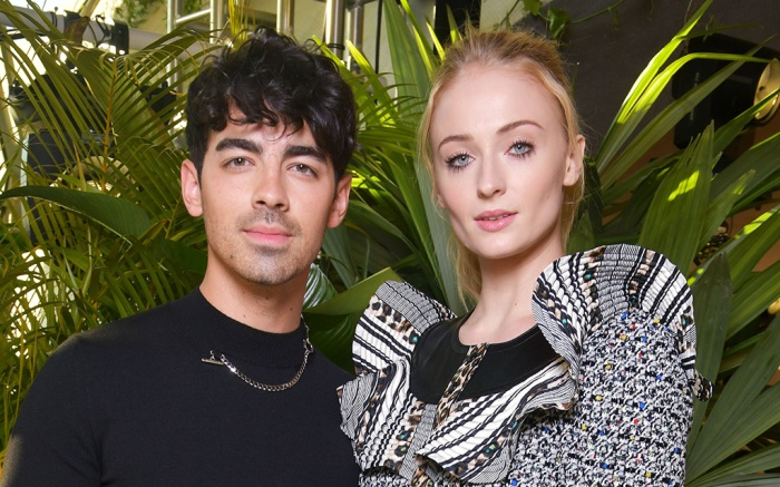 Joe Jonas and Sophie Turner, Louis Vuitton Cruise 2020 show, Front Row, Trans World Airlines Flight Center, John F. Kennedy International Airport, New York, USA – 08 May 2019