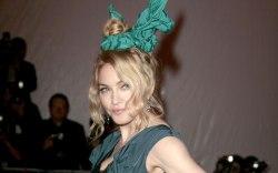 madonna, 2009 met gala, celebrity style