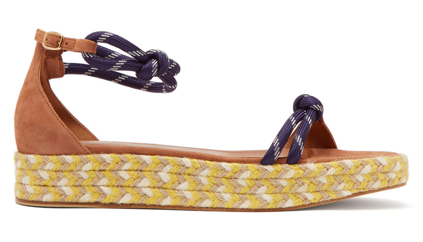 Malone Souliers Simona Rope-Strap Sandals