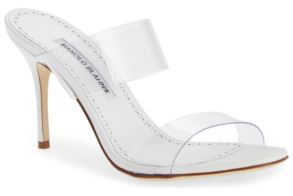 Manolo Blahnik's Scolto sandals