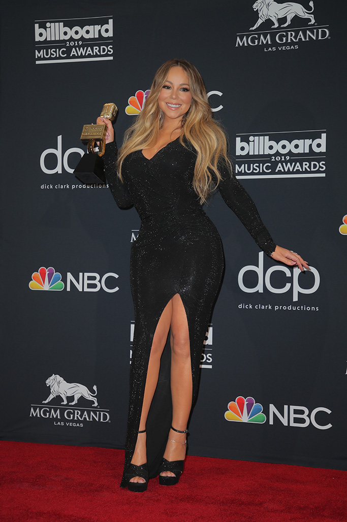 Mariah Carey - Icon AwardBillboard Music Awards, Press Room, MGM Grand Garden Arena, Las Vegas, USA - 01 May 2019