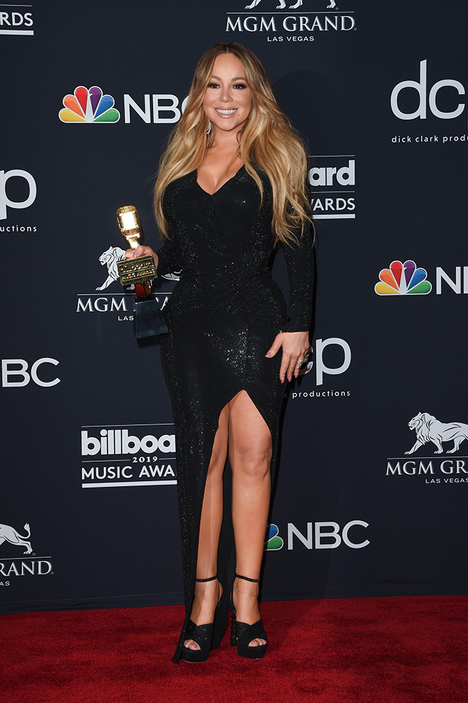 Mariah CareyBillboard Music Awards, Press Room, MGM Grand Garden Arena, Las Vegas, USA - 01 May 2019