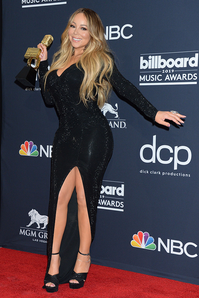 Mariah Carey, 54th Annual ACM Awards, Press Room, Grand Garden Arena, Las Vegas, USA - 07 Apr 2019
