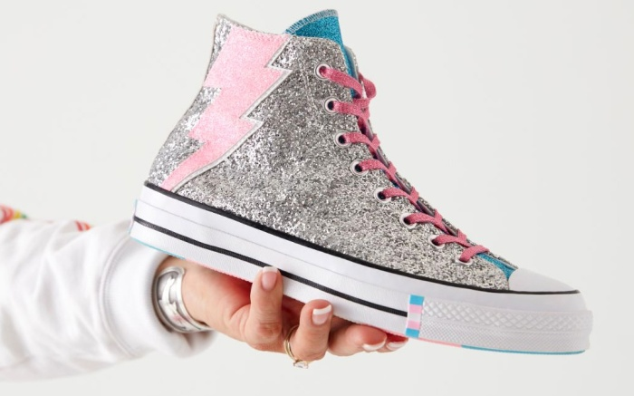 converse pride 2019, shoes, collection, trans flag