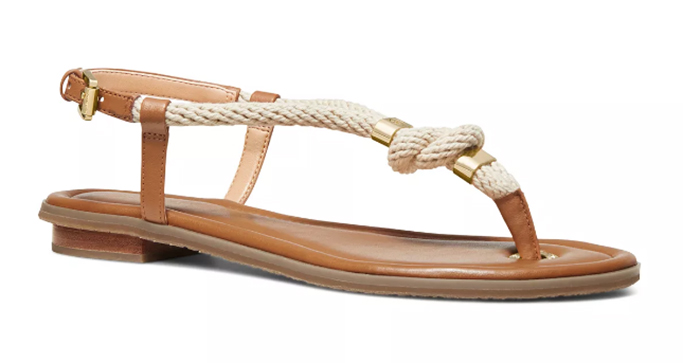 Michael Kors Holly Rope Thong Sandals