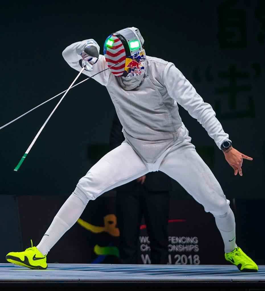 Fencer Miles Chamley-Watson Nike