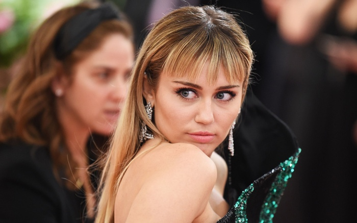 Miley Cyus Costume Institute Benefit celebrating the opening of Camp: Notes on Fashion, Arrivals, The Metropolitan Museum of Art, New York, USA – 06 May 2019