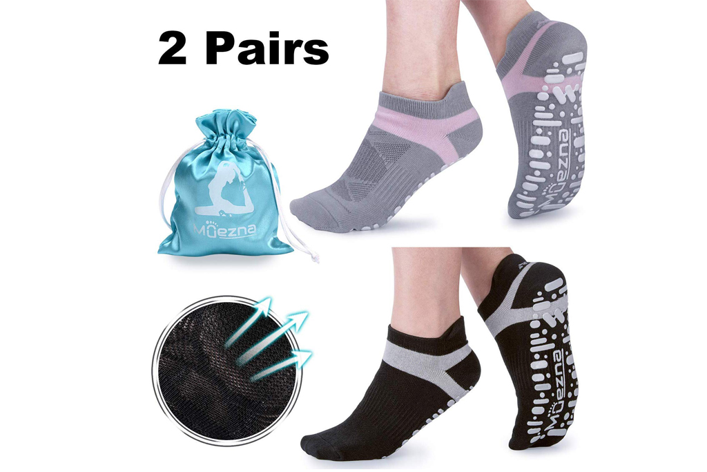 muezna womens yoga socks