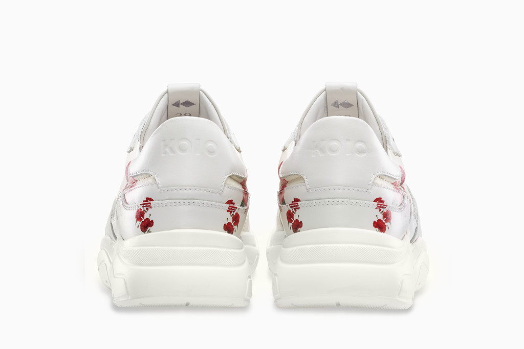 The Koio x Nina Agdal Avalanche runner, sneaker, chunky sneaker, summer shoes