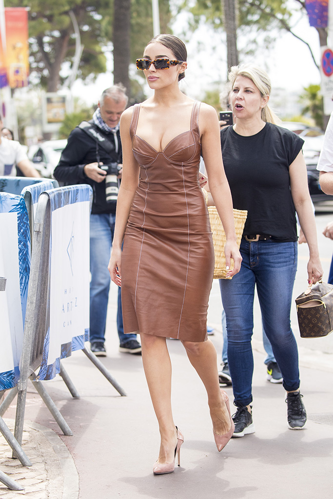 Olivia Culpo, Ermanno Scervino Spring 2019 Dress, Giuseppe zanotti shoes, celebrity style, brown leather dress, is seen during a photoshoot in Cannes during The 72 Cannes Film Festival on May 23th 2019 in Cannes,France.Pictured: Olivia CulpoRef: SPL5092860 230519 NON-EXCLUSIVEPicture by: IMP Features / SplashNews.comSplash News and PicturesLos Angeles: 310-821-2666New York: 212-619-2666London: 0207 644 7656Milan: 02 4399 8577photodesk@splashnews.comUnited Arab Emirates Rights, Australia Rights, Bahrain Rights, Canada Rights, China Rights, Egypt Rights, Greece Rights, India Rights, Israel Rights, Japan Rights, Jordan Rights, South Korea Rights, Lebanon Rights, New Zealand Rights, Qatar Rights, Russia Rights, Saudi Arabia Rights, South Africa Rights, Singapore Rights, Turkey Rights, Taiwan Rights, United Kingdom Rights, United States of America RightsOlivia Culpo is seen during a photoshoot in Cannes during The 72 Cannes Film Festival on May 23th 2019 in Cannes,France.Pictured: Olivia CulpoRef: SPL5092860 230519 NON-EXCLUSIVEPicture by: IMP Features / SplashNews.comSplash News and PicturesLos Angeles: 310-821-2666New York: 212-619-2666London: 0207 644 7656Milan: 02 4399 8577photodesk@splashnews.comUnited Arab Emirates Rights, Australia Rights, Bahrain Rights, Canada Rights, China Rights, Egypt Rights, Greece Rights, India Rights, Israel Rights, Japan Rights, Jordan Rights, South Korea Rights, Lebanon Rights, New Zealand Rights, Qatar Rights, Russia Rights, Saudi Arabia Rights, South Africa Rights, Singapore Rights, Turkey Rights, Taiwan Rights, United Kingdom Rights, United States of America Rights