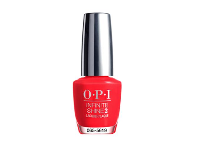 OPI Unrepentantly red infinite shine nail polish