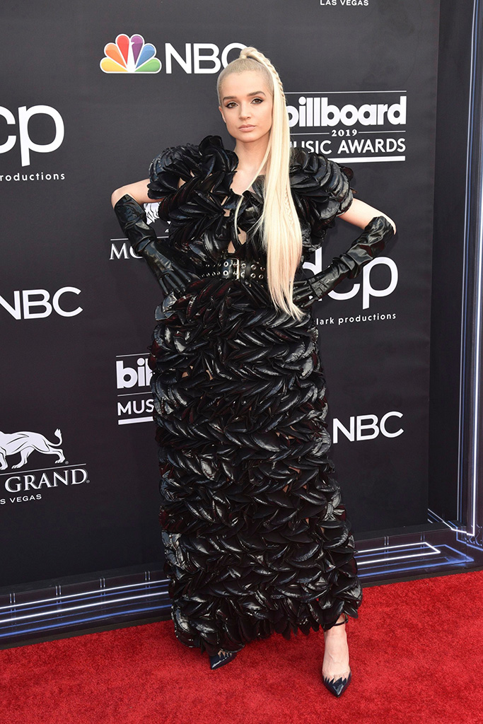 PoppyBillboard Music Awards, Arrivals, MGM Grand Garden Arena, Las Vegas, USA - 01 May 2019 Wearing Moncler X Comme Des Garcon