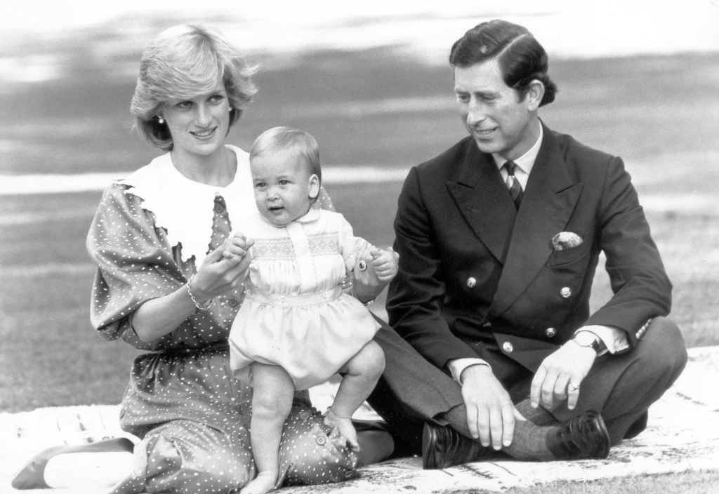 princess diana, prince charles, prince william baby