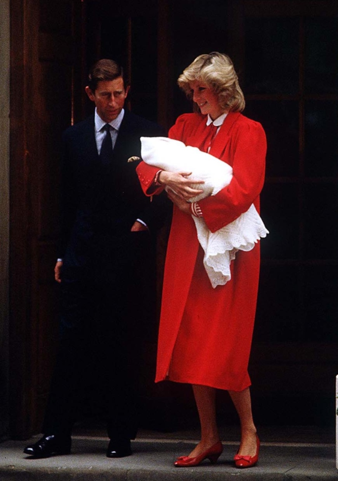 prince harry, princess diana, prince charles
