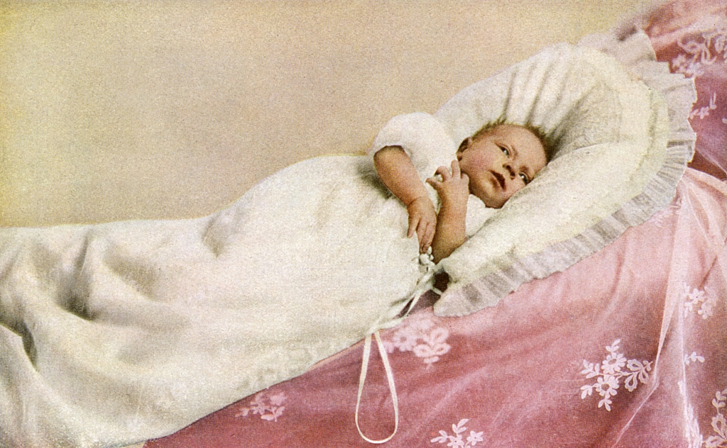 baby Queen Elizabeth II in 1926