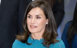 Queen Letizia, celebrity style, zara, madrid,