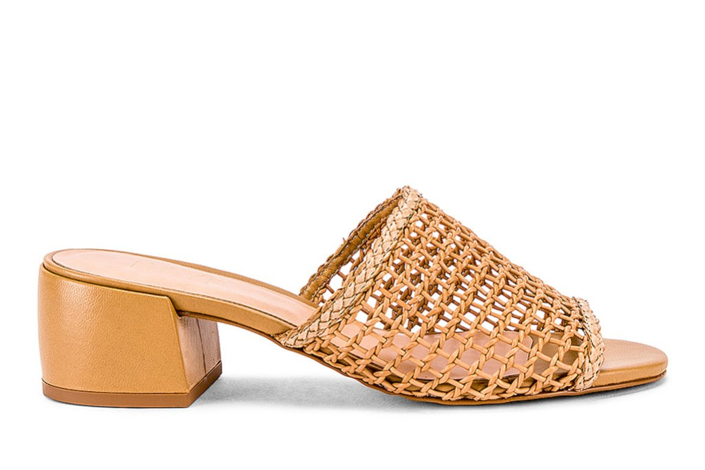 The Revolve Lou Heel , 90s trends, 2019 spring, mom mules
