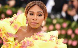 Serena Williams at the Costume Institute