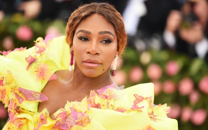 Serena Williams at the Costume Institute Benefit celebrating the opening of Camp: Notes on Fashion, Arrivals, The Metropolitan Museum of Art