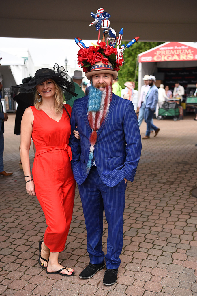 Guests at the Kentucky Derby145th Annual Kentucky Derby, Atmosphere, Churchill Downs, Louisville, Kentucky, USA - 04 May 2019