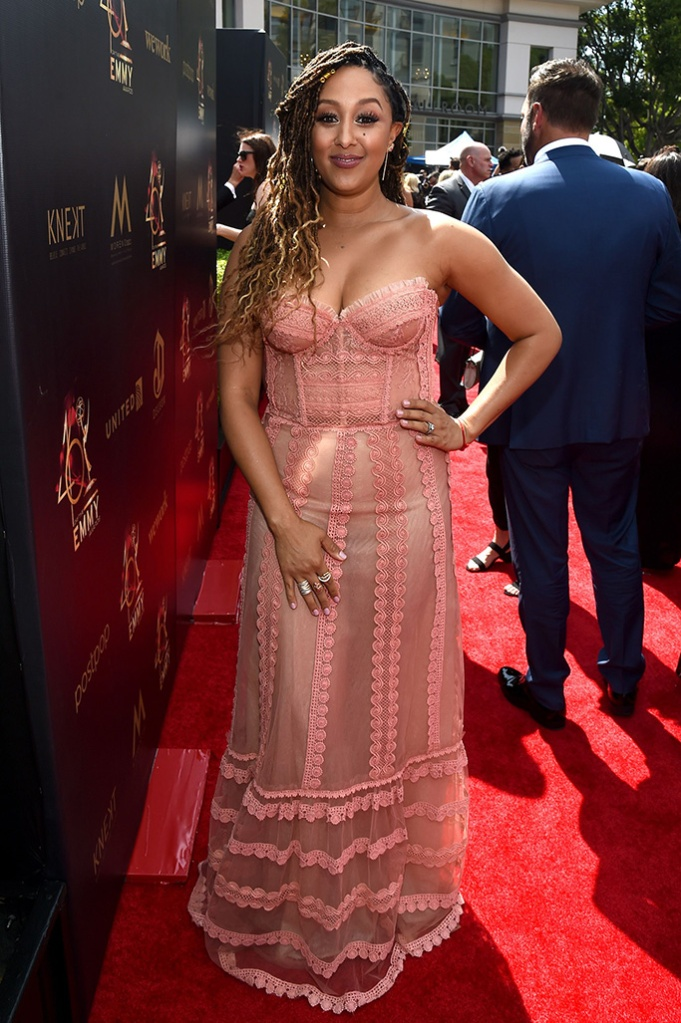 Tamara Mowry-Housley46th Annual Daytime Emmy Awards, Arrivals, Pasadena Civic Auditorium, Los Angeles, USA - 05 May 2019