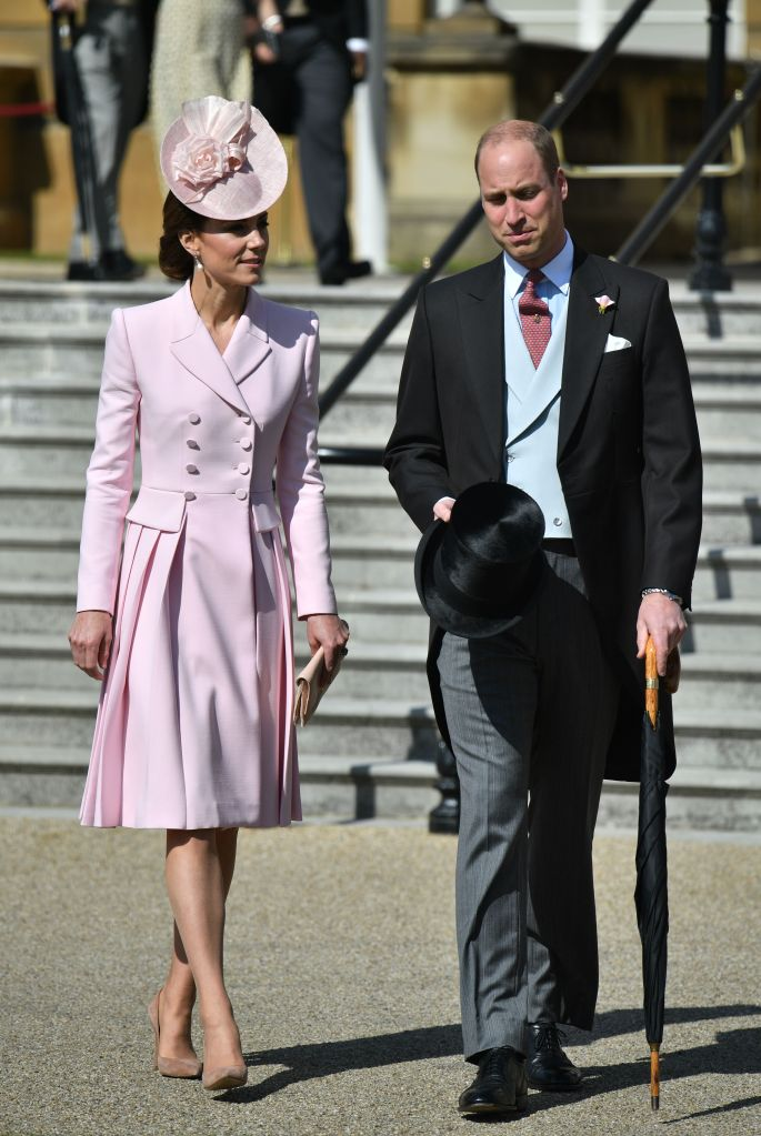 Prince William and Catherine Duchess of Cambridge, Garden party at Buckingham Palace, London, UK - 21 May 2019