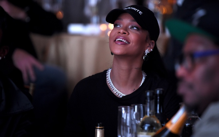 Rihanna Footwear News Achievement Awards, Inside, IAC Headquarters, New York, USA - 29 Nov 2016