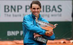 Rafael Nadal (ESP) celebrates his victory