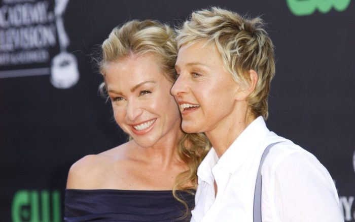 Ellen DeGeneres & Portia de Rossi36th Annual Daytime Emmy Awards, Orpheum Theatre, Los Angeles, America - 30 Aug 2009Rachael Ray and Tyra Banks were awarded the top talk show prizes for their Food Network show and 'America's Top Model' respectively. Ray also won for best entertainment talk show and Banks was honoured with the gong for best informative talk show. Ellen DeGeneres was runner-up in the best talk show host category. Shows picking up numerous Emmys included 'All My Children', 'One Life To Live', 'The View', 'El Tigre', 'Sesame Street' and 'The Ellen DeGeneres Show'.