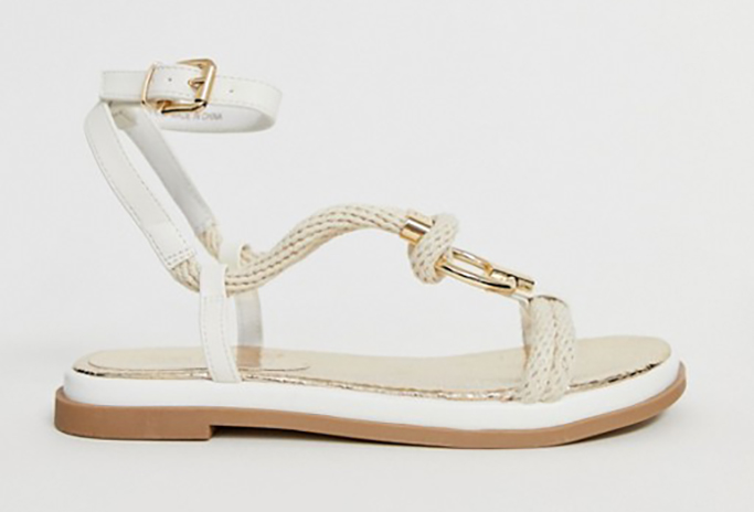 River Island Sandals With Rope Detail
