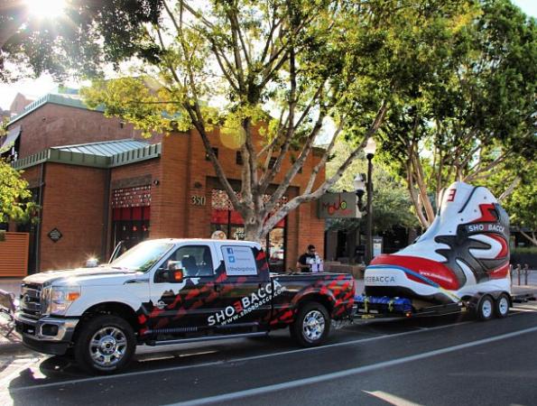 Shoebacca 'Big Shoe' Promotion