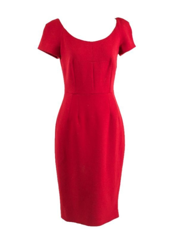 seline meyer's dolce and gabbana dress
