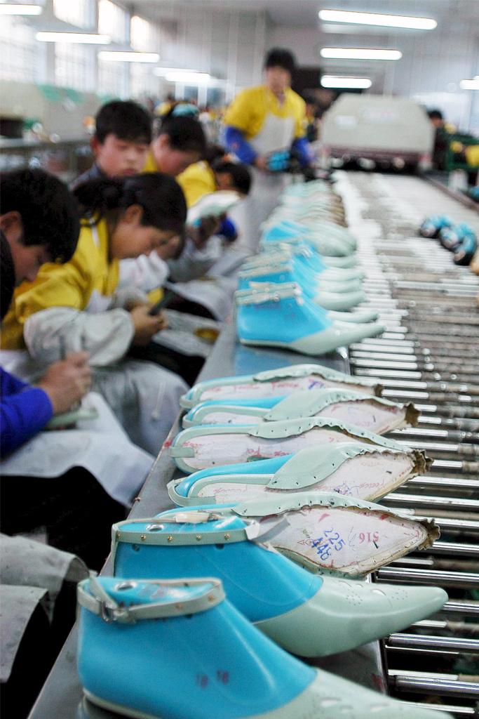 China Shoe Factory Yangcheng