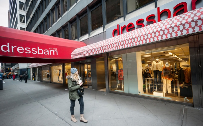 New York NY/USA-March 3, 2017 Ascena Retail Group's  Dressbarn women's clothing store in Midtown Manhattan; Shutterstock ID 1337977793; Usage (Print, Web, Both): Web; Issue Date: 5/21