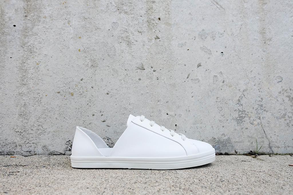EDA, d'orsay, white sneaker, Freda Salvador