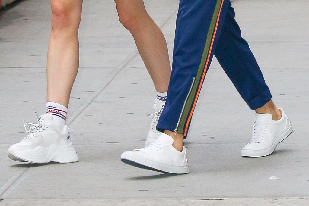 Sophie Turner and Joe Jonas, naked wolfe white sneakers