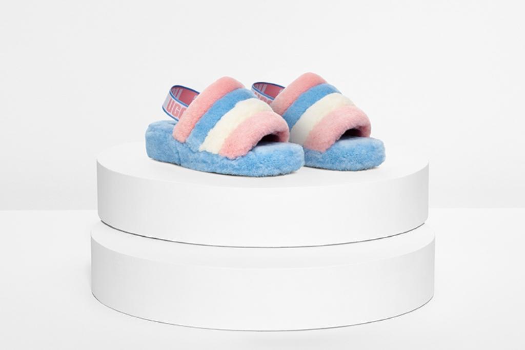 Ugg Fluff Yeah Pride Sandals Benefit