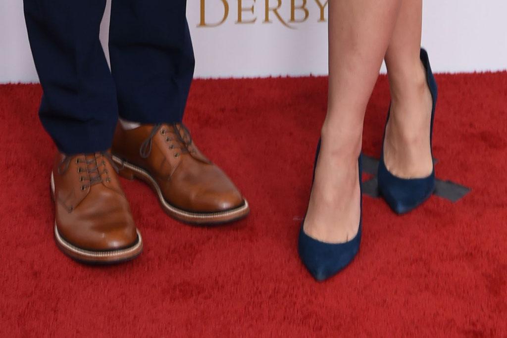 Stephen Amell, cassandra, shoes, kentucky derby, celebrity style