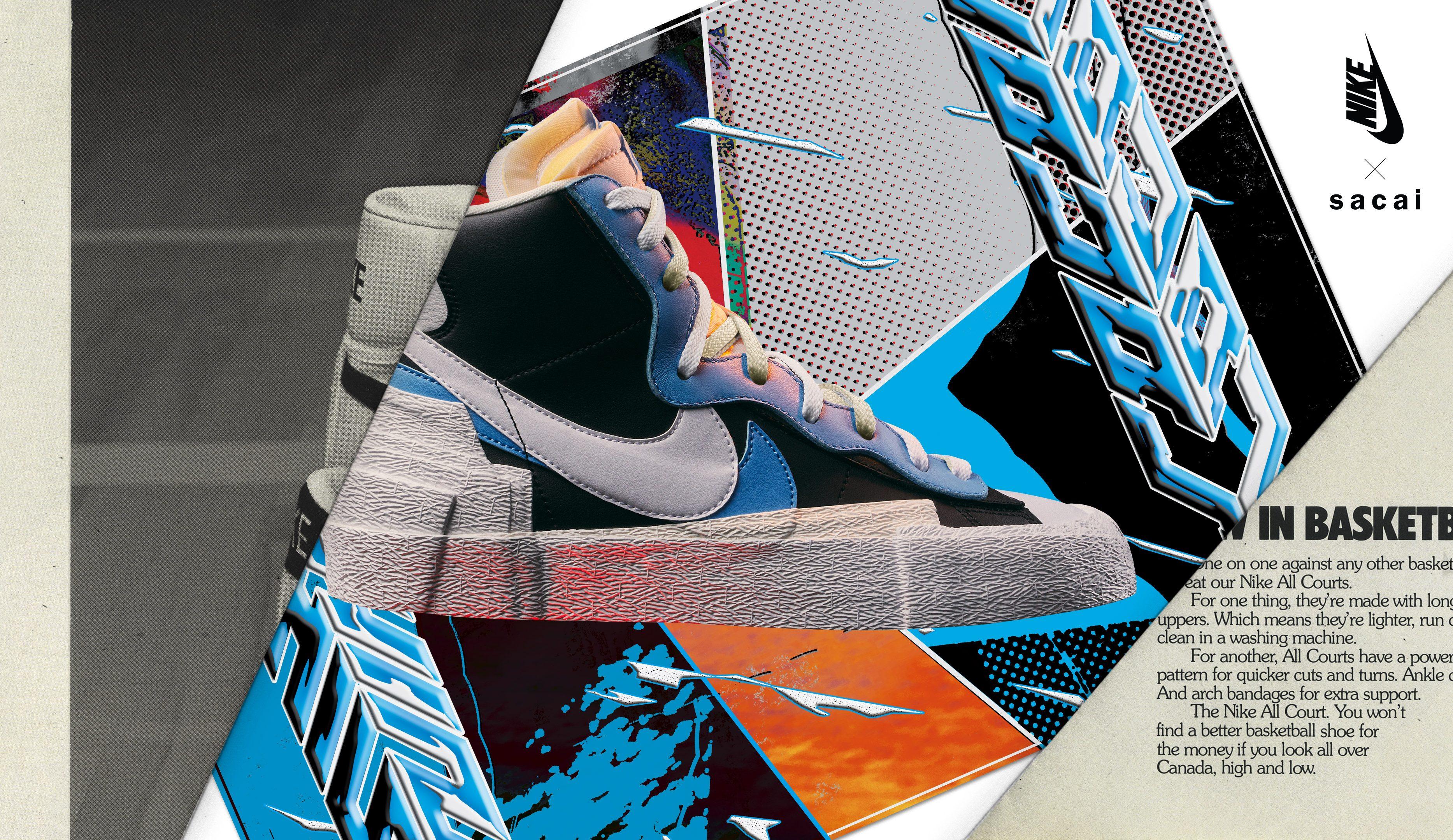 Sacai x Nike Blazer Low Release Info
