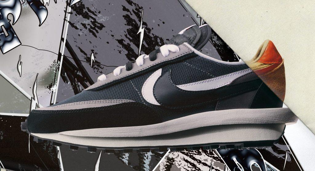 Sacai x Nike LDWaffle, sneakers