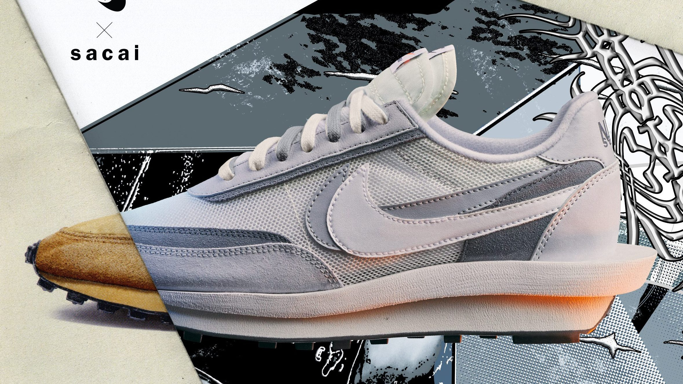 Nike x Sacai LDWaffle Release Date for